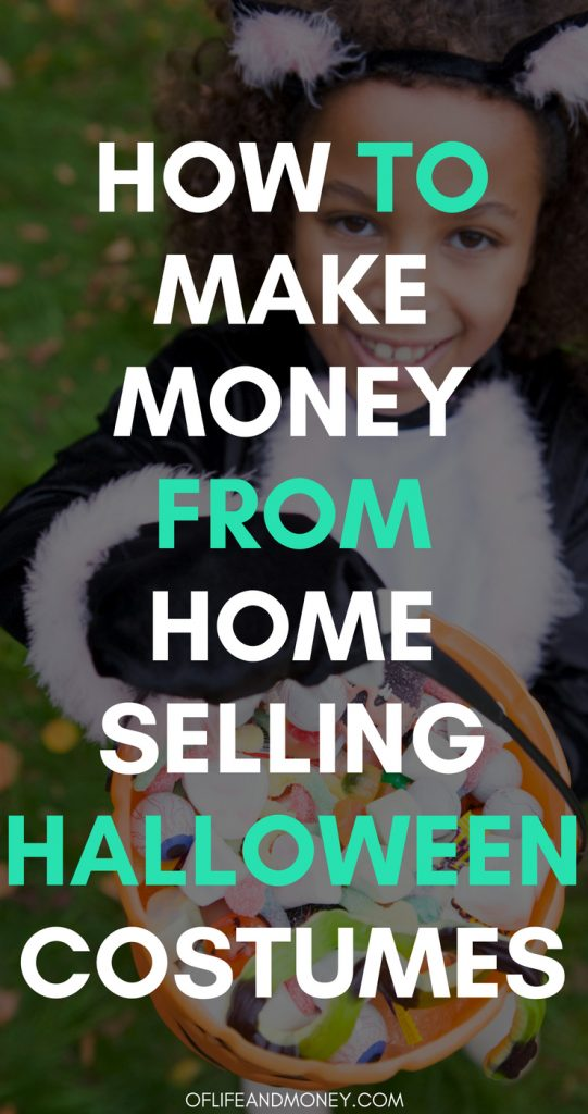 Learn how to make money from home selling Halloween costumes!